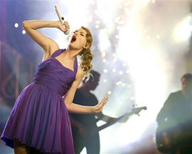 Taylor Swift: Swift among CMA's entertainer of the year nominees