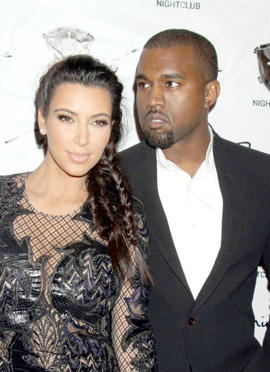 Kanye West and Kim Kardashian buy first home together