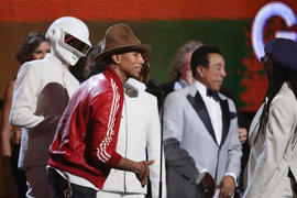 Daft Punk, Pharrell Williams: Grammy win for Daft Punk boosts French pride
