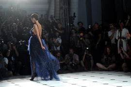 AP PHOTOS: NY Fashion Week's fresh elegance