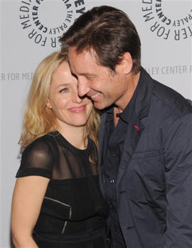Gillian Anderson, David Duchovny: Duchovny and Anderson say they want more 'X-Files'