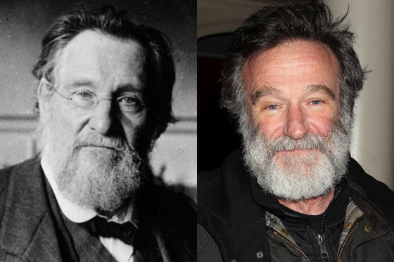 Diapositiva 1 de 20: Robin Williams y Elie Metchnikoff