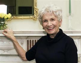 Alice Munro: A glance at Nobel literature winner Alice Munro