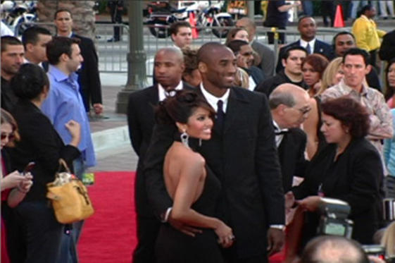Slide 1 of 85: Kobe Bryant and wife Vanessa