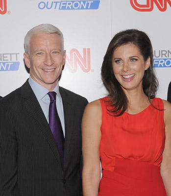 "Slide 1 of 26: <a href=/celebrities/celebrity/anderson-cooper/ type=""Msn.Entertain.Server.WebControls.LinkableMoviePerson"" Arg=""1243842"" LinkType=""Page"">Anderson Cooper</a> and Erin Burnett attend the launch party for CNN's ""Erin Burnett OutFront"" at Robert atop the Museum of Arts and Design on September 27, 2011 in <a href=/movies/movie/new-york.4/ type=""Msn.Entertain.Server.WebControls.LinkableMovie"" Arg=""2268226"" LinkType=""Page"">New York</a> City."
