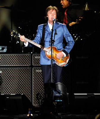 Slide 1 of 46: Paul McCartney performs at Yankee Stadium on July 15, 2011 in New York City.
