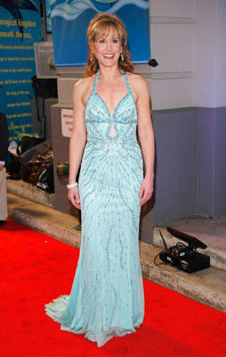"Slide 1 of 21: Actress Jodi Benson, the voice of Ariel in the 1989 film, arrives at the opening night of ""The Little Mermaid"" on Broadway at the Lunt-Fontanne Theater on January 10, 2008 in New York City."