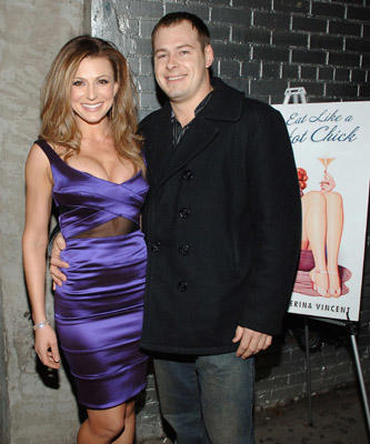 "Slide 2 of 14: Author Cerina Vincent and Producer Ben Waller attend the  ""How to Eat Like a Hot Chick"" Book Release Party at Club Stereo in New York January 10,2008"