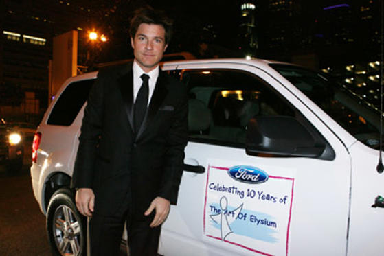 "Slide 1 of 28: <a href=/celebs/celeb.aspx?c=203483 Arg=""203483"" type=""Msn.Entertain.Server.WebControls.LinkableMoviePerson"" LinkType=""Page"">Jason Bateman</a> arrives at The Art Of Elysium on January 12, 2008 in <a href=/tv/episode.aspx?episode=784306e4-5f7f-4750-904e-1c106effab95 Arg=""1"" type=""Msn.Entertain.Server.WebControls.LinkableTVEpisode"" LinkType=""Page"">Los Angeles</a>, California."
