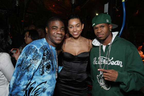 "Slide 1 of 164: <a href=/celebs/celeb.aspx?c=151928 Arg=""151928"" type=""Msn.Entertain.Server.WebControls.LinkableMoviePerson"" LinkType=""Page"">Tracy Morgan</a>, girlfriend Tanisha and rapper Chamillionaire at <a href=/tv/episode.aspx?episode=b8850bfc-22ed-4b96-9a98-1074b7a95453 Arg=""1"" type=""Msn.Entertain.Server.WebControls.LinkableTVEpisode"" LinkType=""Page"">the World</a> Premiere of Screen Gems' ""<a href=/movies/movie.aspx?m=2113057 Arg=""2113057"" type=""Msn.Entertain.Server.WebControls.LinkableMovie"" LinkType=""Page"">First Sunday</a>"" on January 10, 2008 at the Cinerama Dome in <a href=/tv/episode.aspx?episode=784306e4-5f7f-4750-904e-1c106effab95 Arg=""1"" type=""Msn.Entertain.Server.WebControls.LinkableTVEpisode"" LinkType=""Page"">Los Angeles</a>, CA. at the <a href=/movies/movie.aspx?m=2113057 Arg=""2113057"" type=""Msn.Entertain.Server.WebControls.LinkableMovie"" LinkType=""Page"">First Sunday</a> premiere in Los Angeles on January 10, 2008"