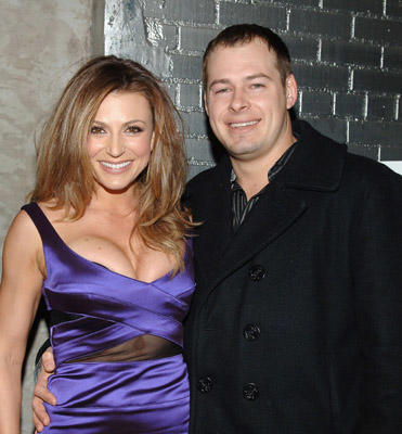 "Slide 1 of 14: Author Cerina Vincent and Producer Ben Waller attend the  ""How to Eat Like a Hot Chick"" Book Release Party at Club Stereo in New York January 10,2008"