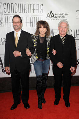 "Slide 1 of 109: Tom Kelly, <a href=/celebrities/celebrity/chrissie-hynde/ type=""Msn.Entertain.Server.WebControls.LinkableMoviePerson"" Arg=""48722"" LinkType=""Page"">Chrissie Hynde</a>, and Billy Steinberg attend the Songwriters <a href=/tv/series/hall-of-fame.2/ type=""Msn.Entertain.Server.WebControls.LinkableTVSeries"" Arg=""1"" LinkType=""Page"">Hall of Fame</a> 42nd Annual Induction and Awards at The <a href=/movies/movie/new-york.4/ type=""Msn.Entertain.Server.WebControls.LinkableMovie"" Arg=""2268226"" LinkType=""Page"">New York</a> Marriott Marquis <a href=/tv/series/hotel.2/ type=""Msn.Entertain.Server.WebControls.LinkableTVSeries"" Arg=""1"" LinkType=""Page"">Hotel</a> - Shubert Alley on June 16, 2011 in <a href=/movies/movie/new-york.4/ type=""Msn.Entertain.Server.WebControls.LinkableMovie"" Arg=""2268226"" LinkType=""Page"">New York</a> City."