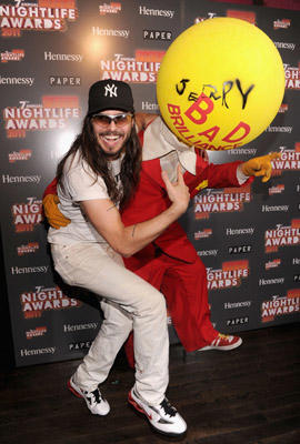 "Slide 1 of 46: <a href=/music/artist/andrew-wk/ type=""Msn.Entertain.Server.WebControls.LinkableArtist"" Arg=""16472240"" LinkType=""Page"">Andrew W.K</a>. attends the Paper Magazine 2011 Nightlife awards at Hiro Ballroom at The Maritime Hotel on September 27, 2011 in <a href=/movies/movie/new-york.4/ type=""Msn.Entertain.Server.WebControls.LinkableMovie"" Arg=""2268226"" LinkType=""Page"">New York</a> City."