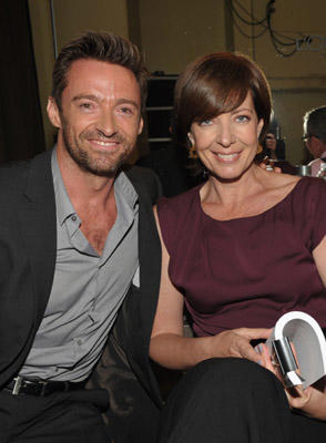Slide 1 of 4: Actors Hugh Jackman and Allison Janney attend the 3rd Annual Variety's Power of Women Event presented by Lifetime at the Beverly Wilshire Four Seasons Hotel September 23, 2011 in Beverly Hills, United States.