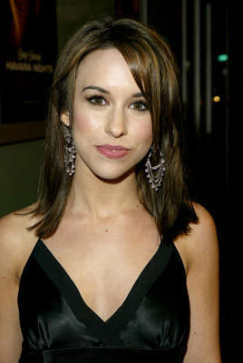 Slide 1 of 111: Lacey Chabert at the Dirty Dancing: Havana Nights premiere in Hollywood on February 24, 2004