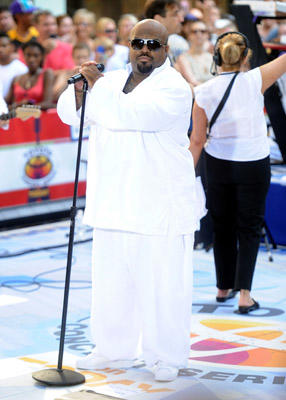 "Slide 1 of 24: Musician Cee Lo Green performs on NBC's ""Today"" at Rockefeller Center on July 22, 2011 in New York City."