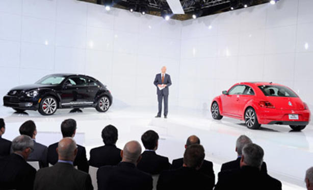 "Slide 1 of 28: Jonathan Browning,President and CEO of Volkswagon Group of America attends the U.S. reveal of the <a href=/tv/series/21st-century.2/ type=""Msn.Entertain.Server.WebControls.LinkableTVSeries"" Arg=""1"" LinkType=""Page"">21st Century</a> Volkswagen Beetle at Warehouse at Pier 36 on April 18, 2011 in <a href=/movies/movie/new-york.4/ type=""Msn.Entertain.Server.WebControls.LinkableMovie"" Arg=""2268226"" LinkType=""Page"">New York</a> City."