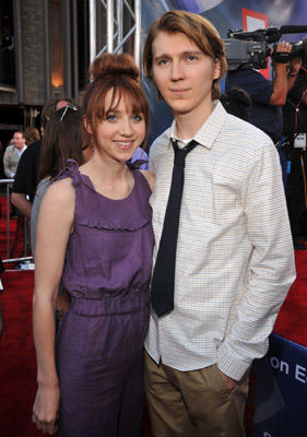 "Slide 1 of 101: Actors Zoe Kazan and Paul Dano at the ""Cowboys & Aliens"" World Premiere at San Diego Civic Theatre on July 23, 2011 in San Diego, California. at the Cowboys & Aliens premiere in San Diego on July 22, 2011"