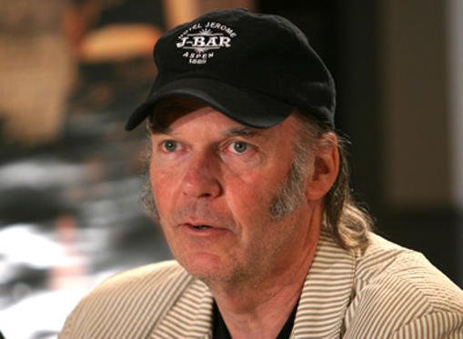 Slide 1 of 20: Neil Young