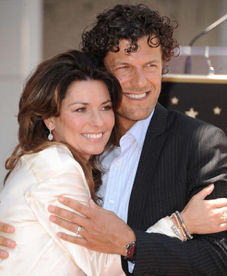 Slide 1 of 153: Singer Shania Twain and her husband Frederic Thiebaud attends the Shania Twain Hollywood Walk Of Fame Induction Ceremony on June 2, 2011 in Hollywood, California.