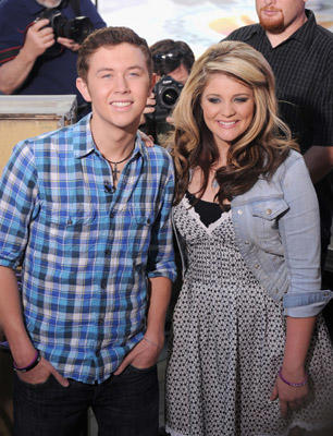 "Slide 1 of 39: ""American Idol"" winner Scott McCreery and ""American Idol"" runner up Lauren Alaina perform on NBC's ""Today"" at Rockefeller Center on June 2, 2011 in New York City."