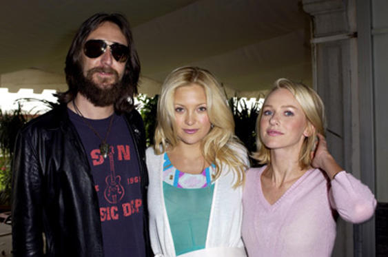 Slide 1 of 3: Chris Robinson, Kate Hudson and Naomi Watts