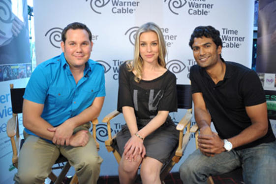"Slide 1 of 21: Time Warner Cable's Noah Park, actors Piper Perabo and Sendhil Ramamurthy attend ""Covert Affairs"" For Time Warner Cable at Hard Rock Hotel San Diego on July 21, 2011 in San Diego, California."