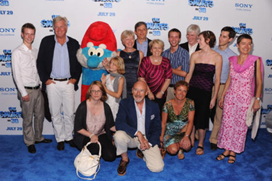 "Slide 1 of 123: Veronique Culliford (C) and guests attend the world premiere of ""<a href=/movies/movie/the-smurfs.2/ type=""Msn.Entertain.Server.WebControls.LinkableMovie"" Arg=""2238730"" LinkType=""Page"">The Smurfs</a>"" at the Ziegfeld Theater on July 24, 2011 in <a href=/movies/movie/new-york.4/ type=""Msn.Entertain.Server.WebControls.LinkableMovie"" Arg=""2268226"" LinkType=""Page"">New York</a> City. at the <a href=/movies/movie/the-smurfs.2/ type=""Msn.Entertain.Server.WebControls.LinkableMovie"" Arg=""2238730"" LinkType=""Page"">The Smurfs</a> premiere in New York on July 23, 2011"