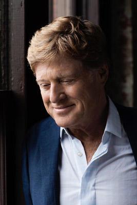Slide 1 of 1: Actor, director and environmentalist Robert Redford is photographed for Michigan Avenue Magazine on March 10, 2011 in New York City.