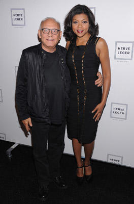 Slide 1 of 79: Designer Max Azria and Taraji Henson attend the Herve Leger by Max Azria Spring 2012 fashion show during Mercedes-Benz Fashion Week at The Theater at Lincoln Center on September 13, 2011 in New York City.