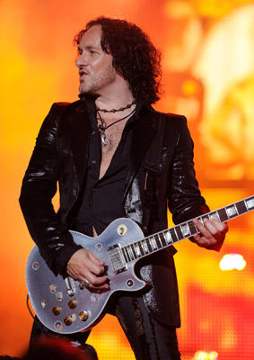Slide 1 of 121: Vivian Campbell of Def Leppard performs at Nikon at Jones Beach Theater on July 30, 2011 in Wantagh, New York.