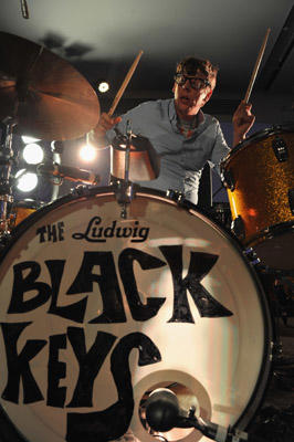 Slide 1 of 8: Patrick Carney of The Black Keys perform at the launch of T-Mobile's new Android-Powered Samsung Galaxy S II and HTC Amaze 4G at Espace on October 12, 2011 in New York City.
