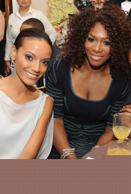 Slide 1 of 56: Selita Ebanks and Serena Williams attend The Compound Foundation 2011 Annual Benefit at Private Residence on September 14, 2011 in New York City.