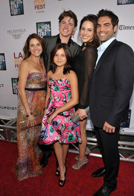 "Slide 1 of 110: Actress Bailee Madison (C) and family arrive at the ""Don't Be Afraid of The Dark"" Closing Night Gala screening during the 2011 Los Angeles Film Festival held at the Regal Cinemas L.A. LIVE on June 26, 2011 in Los Angeles, California."