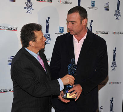Slide 1 of 23: Meir Fenigstein and Liev Schreiber the 25th Israel Film Festival VIP reception at The Plaza Hotel on May 5, 2011 in New York City.