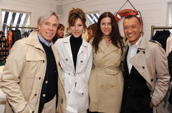 Slide 1 of 66: (L-R) Designer Tommy Hilfiger, Roberta Myers, Marybeth Schmitt and Joe Zee attend the launch of Prep World NYC at Pop Up House on May 4, 2011 in New York City.