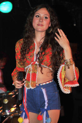 Slide 1 of 6: Eliza Doolittle performs in concert at Mercury Lounge on April 25, 2011 in New York City.