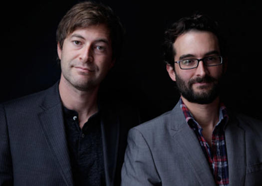 "Slide 1 of 8: Directors Mark Duplass and Jay Duplass of ""Jeff, Who Lives At Home"" pose during the 2011 Toronto International Film Festival at Guess Portrait Studio on September 14, 2011 in Toronto, Canada."