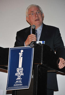 Slide 1 of 11: Phil Donahue attends the 25th Israel Film Festival Awards Presentation at The Paris Theatre on May 5, 2011 in New York City.