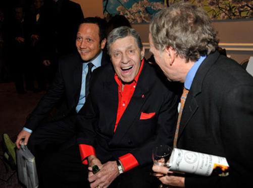 Slide 1 of 48: Rob Schneider and Jerry Lewis attend the Friars Club roast of Quentin Tarantino at the New York Hilton and Towers on December 1, 2010 in New York City.