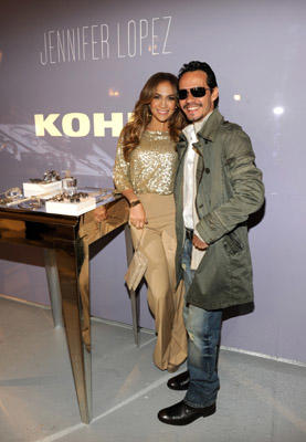 Slide 1 of 1: (EXCLUSIVE COVERAGE) Jennifer Lopez and Marc Anthony preview their new fashion and home collections available exclusively at Kohl's at Center 548 on May 2, 2011 in New York City.