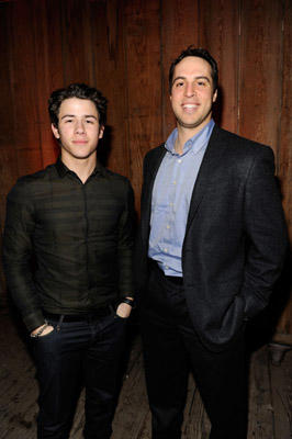 "Slide 1 of 80: Musician Nick Jonas and Mark Teixeira of the New York Yankees attend the ESPN Magazine ""NEXT"" Party held at the NEXT Ranch on February 4, 2011 in Fort Worth, Texas."