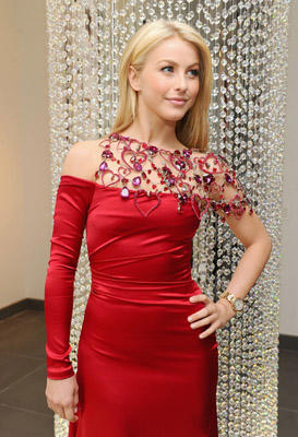 "Slide 1 of 1: <a href=/celebrities/celebrity/julianne-hough/ type=""Msn.Entertain.Server.WebControls.LinkableMoviePerson"" Arg=""1375340"" LinkType=""Page"">Julianne Hough</a> prepares to walk for Swarovski in the Heart Truth's Red Dress Collection Fashion Show at the Swarovski Showroom on February 4, 2011 in <a href=/movies/movie/new-york.4/ type=""Msn.Entertain.Server.WebControls.LinkableMovie"" Arg=""2268226"" LinkType=""Page"">New York</a> City. <a href=/celebrities/celebrity/julianne-hough/ type=""Msn.Entertain.Server.WebControls.LinkableMoviePerson"" Arg=""1375340"" LinkType=""Page"">Julianne Hough</a> Prepares To Walk For Swarovski In The Heart Truth's Red Dress Collection Fashion Show - Private Event Swarovski Showroom <a href=/movies/movie/new-york.4/ type=""Msn.Entertain.Server.WebControls.LinkableMovie"" Arg=""2268226"" LinkType=""Page"">New York</a>, <a href=/movies/movie/new-york.4/ type=""Msn.Entertain.Server.WebControls.LinkableMovie"" Arg=""2268226"" LinkType=""Page"">New York</a> USA February 4, 2011 Photo by Jamie McCarthy/WireImage.com To license this image (17464349), contact WireImage.com"