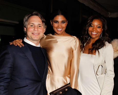 Slide 1 of 66: CEO Niche Media Jason Binn, designer Rachel Roy, and actress Gabrielle Union attend the Montblanc Cocktail Party co-hosted by Harvey and Bob Weinstein celebrating the Weinstein Company's Academy Award Nominees and the New Montblanc Charity Partnership with the Princess Grace Foundation-USA at Soho House on February 26, 2011 in West Hollywood, California.