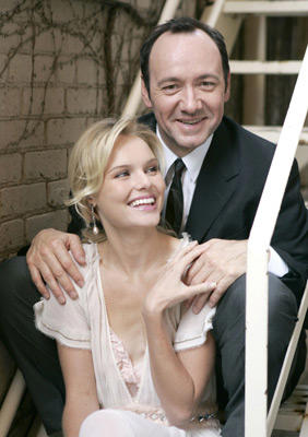 Slide 1 of 28: Kate Bosworth and Kevin Spacey