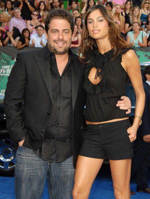 Slide 1 of 228: Brett Ratner and Alina Puscau