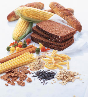 Photo: Whole-grain foods - Rich in fiber, complex carbohydrates, and many other key nutrients, whole grains reduce the risk of many diseases.