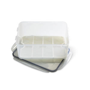 Photo: Deep freezer box - Ideal for brining and curing hams, bacon, and large joints of meat. Choose as large a box as possible with a drip tray and lid.