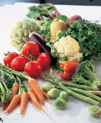 Photo: Vegetables - A vital source of vitamins, minerals, and fiber, vegetables should form a major part of your diet (see Vegetables for Health).