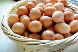 Photo: Ideal protein - Low in saturated fat and calories, but an excellent source of complete protein, eggs provide an inexpensive and nutritious addition to your diet.